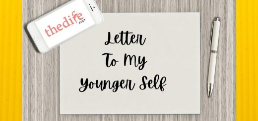 Letter to my younger selrf